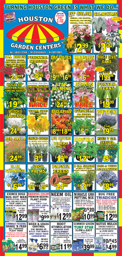 Buy A Website >> Houston Garden Centers - Great Deals Every Day at Your Garden Superstore